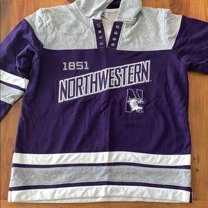Northwestern hockey jersey